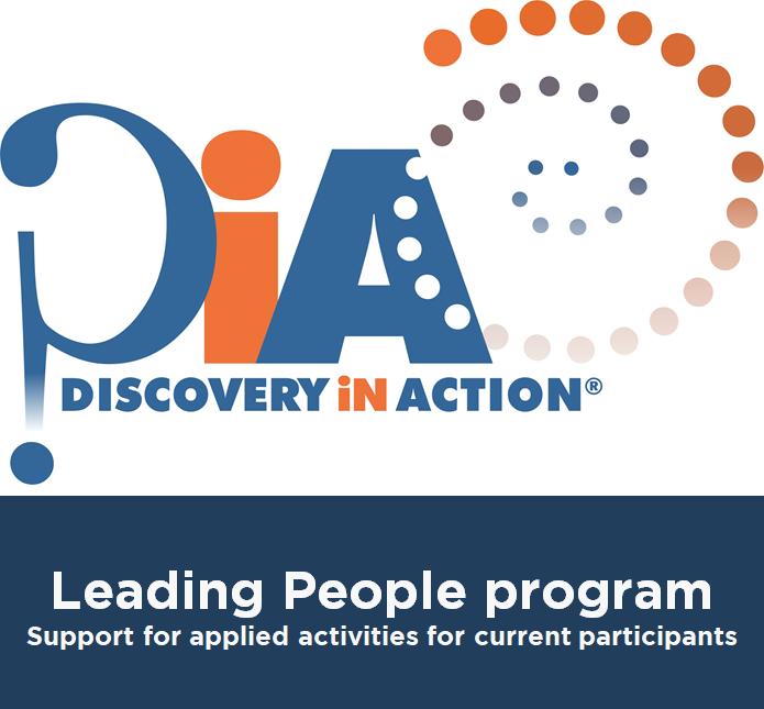 DiA Leading People program for current participants